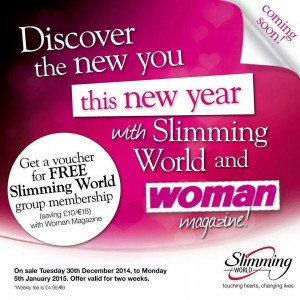Free Slimming World Membership with Woman Magazine ...