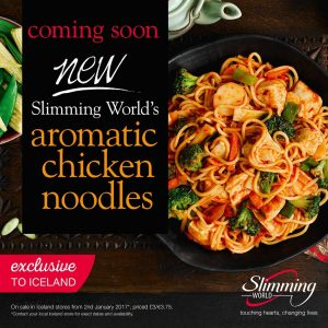 New slimming world ready meals launching in january at iceland swstretford New slimming world meals