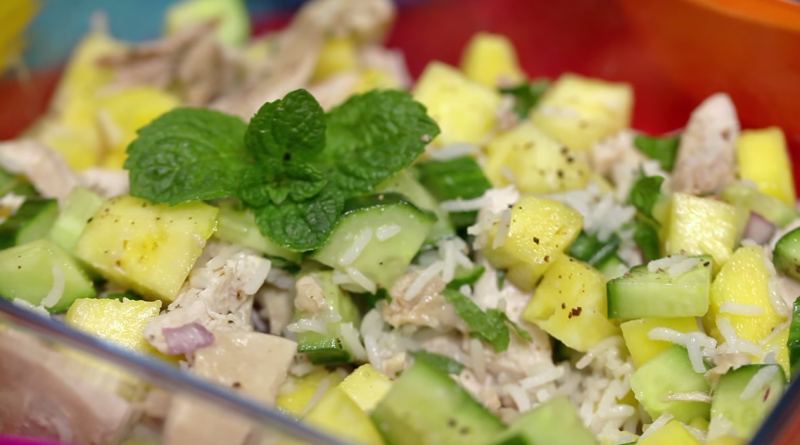 Slimming World Caribbean Chicken and Rice (Lunch Idea!)