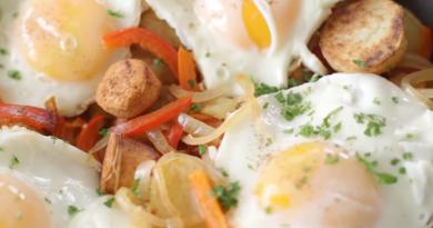 Slimming World chorizo breakfast brunch hash