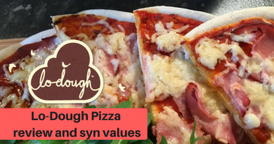 Lo-Dough – review, current syn values and Pizza recipe