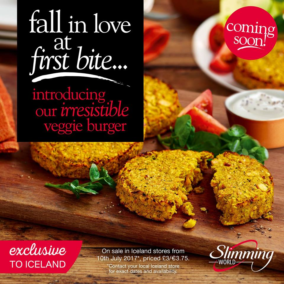Brand New Slimming World Veggie Burgers Coming Soon Swstretford